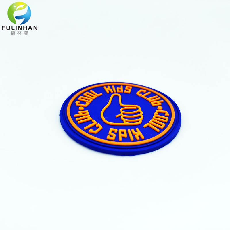 3d club silicone badges