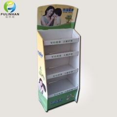 Custom Cardboard Floor Display Stands