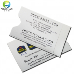 Custom Offset Print Paper Hotel Key Card Holders