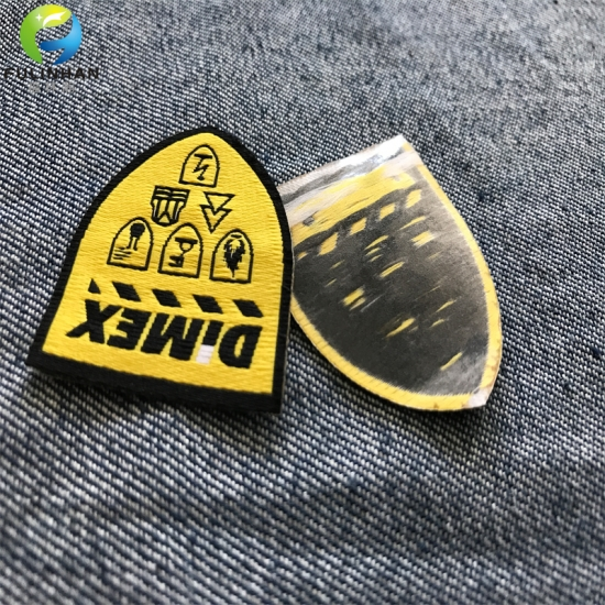 Iron Woven Patches