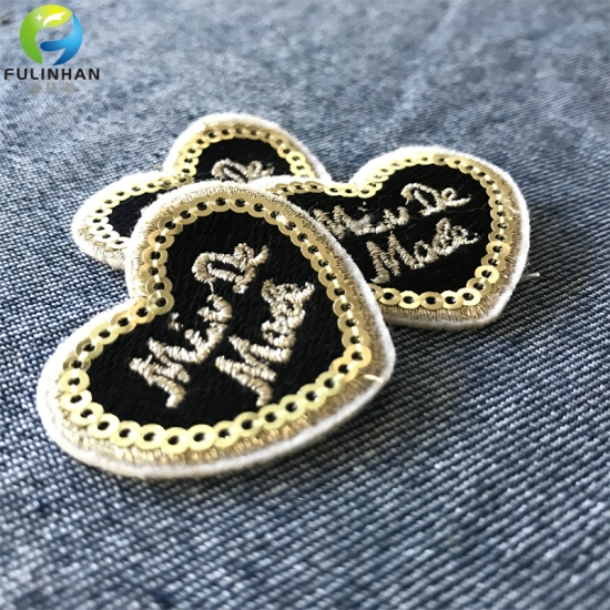 Embroidery Sequins Patches