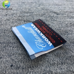 Custom Centerfold Clothing Woven Labels