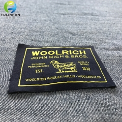 Main  clothing woven label for garment