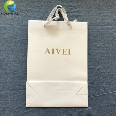Embossed Paper Shopping Bags for Clothing