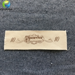 Fabric Canvas Printed Clothing Labels