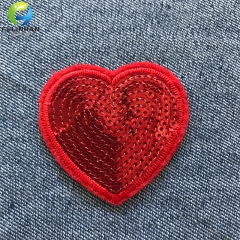 Custom Embroidered Sequins Patches for Clothes