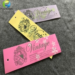 Garment Accessoires Coated Paper Hang Tags