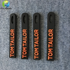 Rubber embossed LOGO Pull Tabs