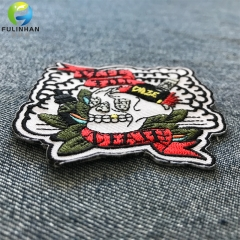 Heat Transfer Backing Embroidered Patches