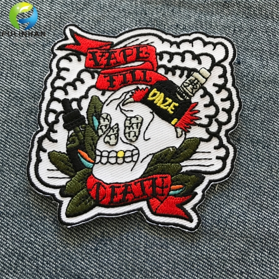 Heat Transfer  Embroidered Patches