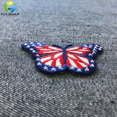 Custom Butterfly Embroidered Patches