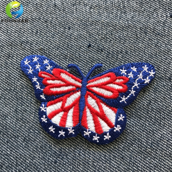 Butterfly Embroidered Patches