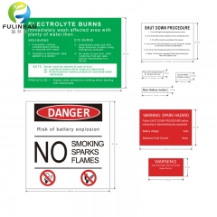 Solar Danger Warning Label Kits