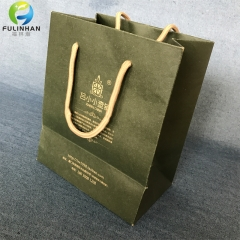 Full color printing paper shopping bags