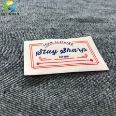 Custom Woven Clothing Labels Supplier