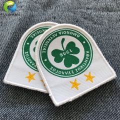 Transfer Woven Patches clothing label