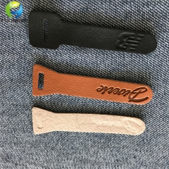 custom luggage zipper pulls leather pullers