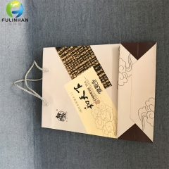 White Paper Bags with handle wholesale