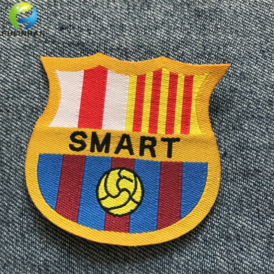 sportswear woven patches
