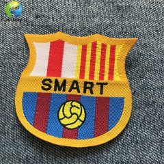 custom sportswear woven patches