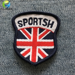 Custom sportswear Woven Patches OEM factory