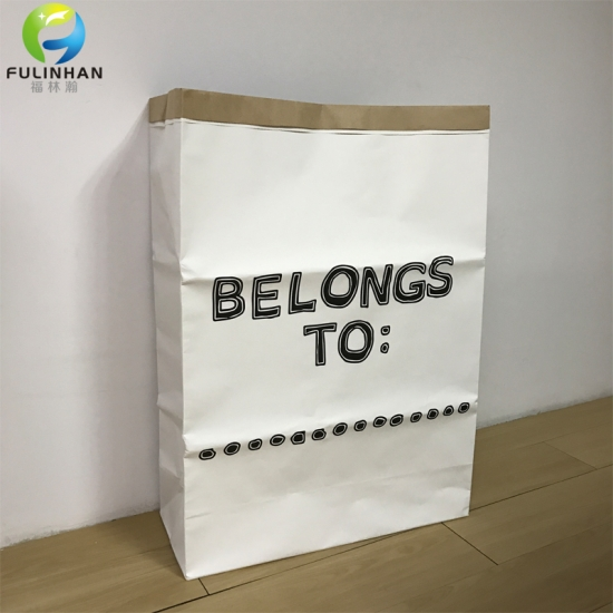 Heavy Kraft Paper Storage Bag Kids Toys Clothing Bag Organizer Simple  Eco Friendly Home Decor