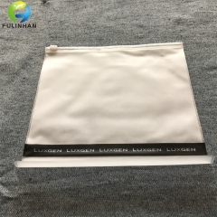 Matt PVC slider zipper Bags