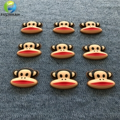 Rubber Silicone Badges for shoes