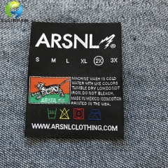 Clothing  woven neck labels