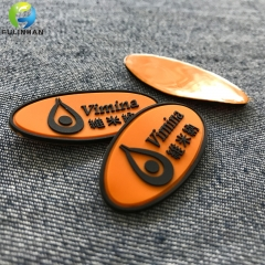 Custom Clothing PVC Badges