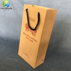 Kraft Paper wine packing bags
