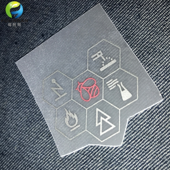 Reflective transfer labels