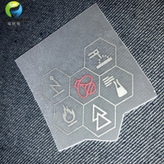 Custom Reflective transfer labels