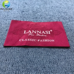 Custom End Fold Woven Label