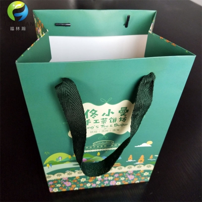 Custom Landmark Shopping Bag for Gift