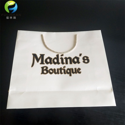 Custom Paper Shopping Bags for Clothes