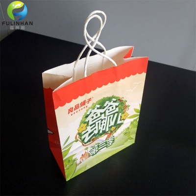 Wholesale Cheap Foldable Paper Shopping Bags