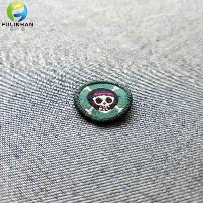 Custom Logo Woven Patches for Clothing