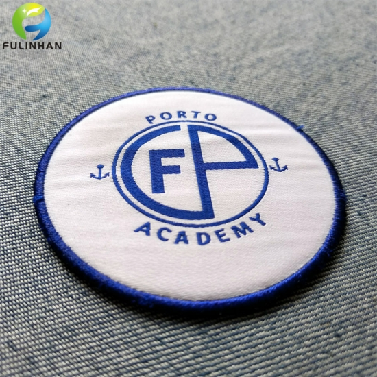 School Badge Woven Patches