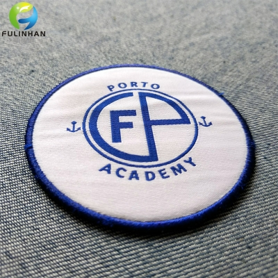 Custom School Badge Woven Patches