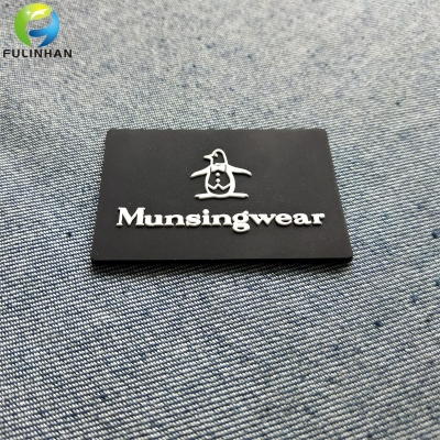 Custom Embossed Logo Rubber Patches