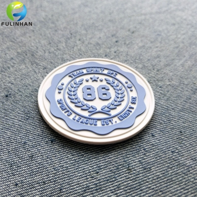 OEM Custom Team Logo Rubber Patches