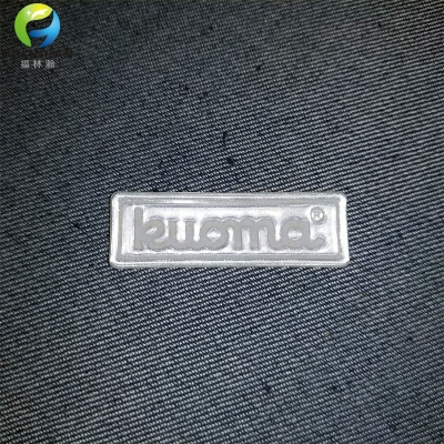 OEM Custom Brand Name Reflective Patches