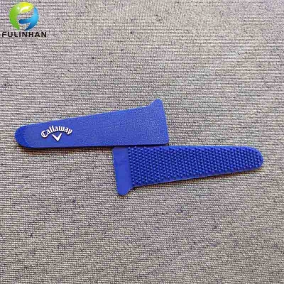 Embossed Brand Logo Clothing Sleeve Tab