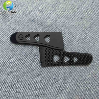 Durable Black PVC Rubber Sleeve Tab