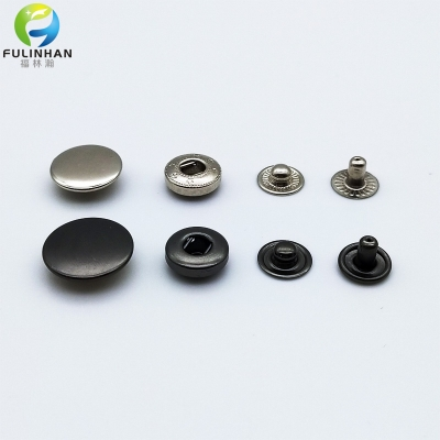 Wholesale Four Parts Metal Snap Button