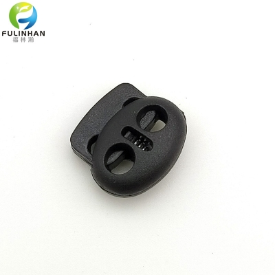 2 Holes Button Spring Lock Stopper