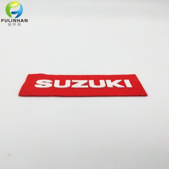 brand rubber labels