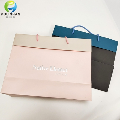 Custom Printed Double-Sided Paper Shopping Bags