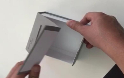 Collapsible Magnetised Paper Boxes